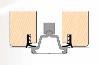 Tesnilo za drsna vrata D743 prerez