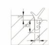 Tesnilo za drsna vrata D743