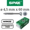 Vijaki Spax 4,5 mm x 60 mm