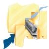 Ventilacijska krtačka DX-1316 vstavljanje
